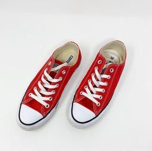 Converse Shoes - Converse Chuck Taylor All Star Red Sneakers Sz 7.5